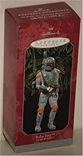 hallmark keepsake ornament wars boba fett home
