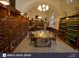 royal library of denmark old classic reading room stock photo
