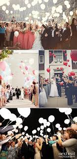 wedding send ideas 45 creative ways to incorporate balloons into your big day