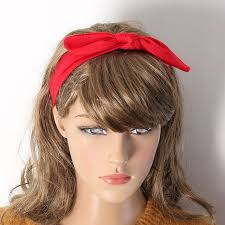 cloth headbands online shop 1pc women headbands rabbit ears bow hair
