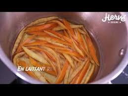 herv2 cuisine on déguste comment faire les orangettes au chocolat hervé