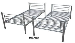 Slide Design School Bed Adult Metal Double Bunk Bed Buy Cheap - Milano bunk bed
