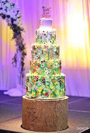 enchanted forrest wedding cake susucre