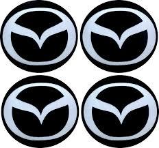 logo de mazda emblematy samochodowe na kołpaki logo mazda 70 mm hurtownia