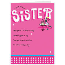 birthday card for sister best 20 birthday cards for sister ideas