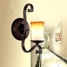 Wall Sconces Rustic Sconce Party Light Candle Holder Modern Iron Candle Light Wall