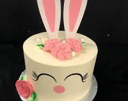 easter bunny cake ideas easter cake topper etsy