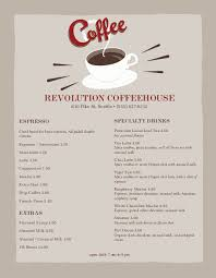coffee shop menu template coffee shop menu template coffee menu design musthavemenus