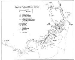 Map Of Concentration Camps Experience Arizona Arizona Places Catalina Federal Honor Camp