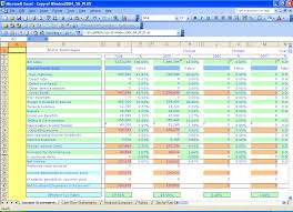 Excel Balance Sheet And Income Statement Template Excel Templates Windex 5 Year Financial Ratios