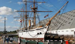three historic warships chatham historic dockyard trust