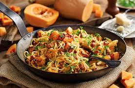 cuisine butternut butternut carbonara pasta recipes tesco food
