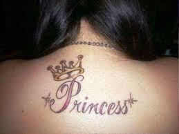 princess crown best crown tattoos for