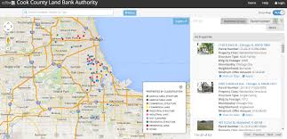 Chicago On Map Cook County Land Bank Property Viewer U2013 Smart Chicago