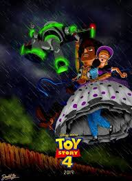 toy story 4 poster fan art scribblenscratch deviantart
