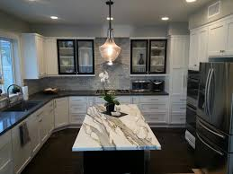 antique white kitchen island and sophisticated budget kitchen renovation cost with