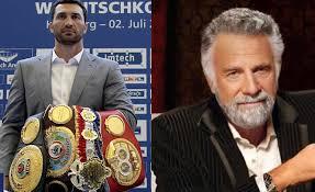 Interesting Man Meme - is wladimir klitschko the real most interesting man in the world