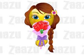 Smiley Flowers - flower gifts smiley zaazu com