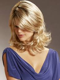 medium length hairstyles for heart shaped face medium length hair oval face pic