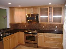 splash home decor look marble splash w birch cabinets