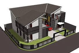 desain rumah corel misteri desain contoh desain rumah kost minimalis cantik kost
