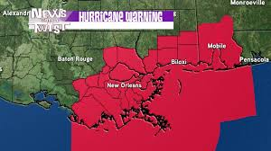 Louisiana travel alerts images Hurricane warnings now up for most of southeast louisiana wgno jpg