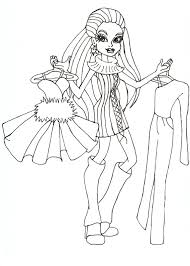 free printable monster high coloring pages abbey i love fashion