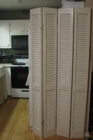 Folding Room Divider Doors Room Divider From Louvered Bi Fold Doors