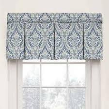Elasticated Valance Waverly Wavelry Donnington Box Pleat Window Valance Cornflower