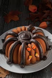 Spider Halloween Cakes by Halloween Spider Bundt Flourish King Arthur Flour