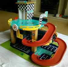 gltc pit stop wooden toy garage in altrincham manchester gumtree