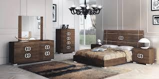 prestige classic bedroom set in cognac birch by status made in italy
