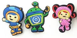 umizoomi cake toppers team umizoomi milli geo bot set of 3 shoe croc charms