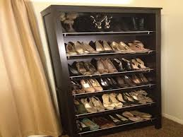 simple decoration shoe rack closet organizer shoes ideas with