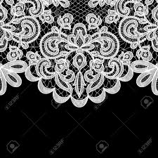 Visa Black Card Invitation Wedding Invitation Or Greeting Card With Lace Border On Black