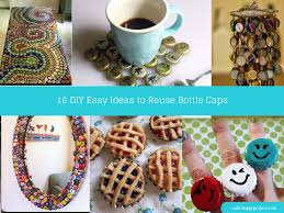 17 creative diy bottle cap art and craft ideas to reuse bottle caps