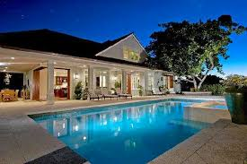 house with pool big houses with pools this large pool house has a large covered