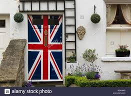 Front Door Painted by Door Painted With Union Jack Flag Front Door Of House Painted In