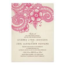 mehndi invitation personalized henna mehndi invitations custominvitations4u