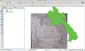 Prime Meridian Map Qgis Geo Referencing An Old Map Geographic Information Systems