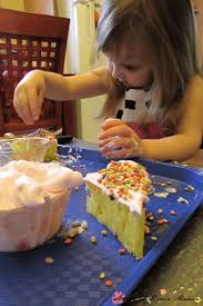 kids craft ideas sponge cake craft