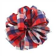 patriotic ribbon white and blue ribbon patriotic ribbon wholesale ribbon