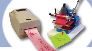 imprinted ribbon howard imprinting sting machines sting foils supplies