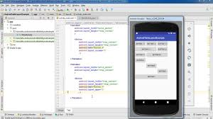 android layouts table layout android studio tutorial for