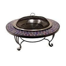 home depot fire table catalina creations glass mosaic fire pit ad389 the home depot