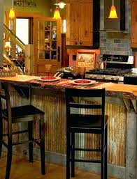 metal island kitchen corrugated metal kitchen island corrugated metal on kitchen island