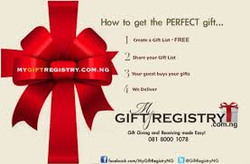 the gift registry weddings made with mygiftregistry ng nigeria s