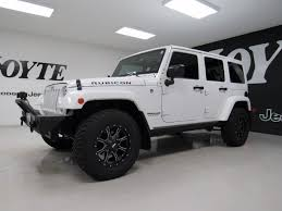 used jeep wrangler 4 door for sale 2016 jeep wrangler unlimited 4x4 4 door suv rubicon white used suv