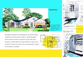 1940s and 50s house plans panorama houses and floor plans of