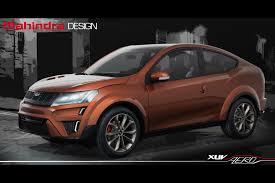 indian car mahindra mahindra unveils xuv aero concept in india